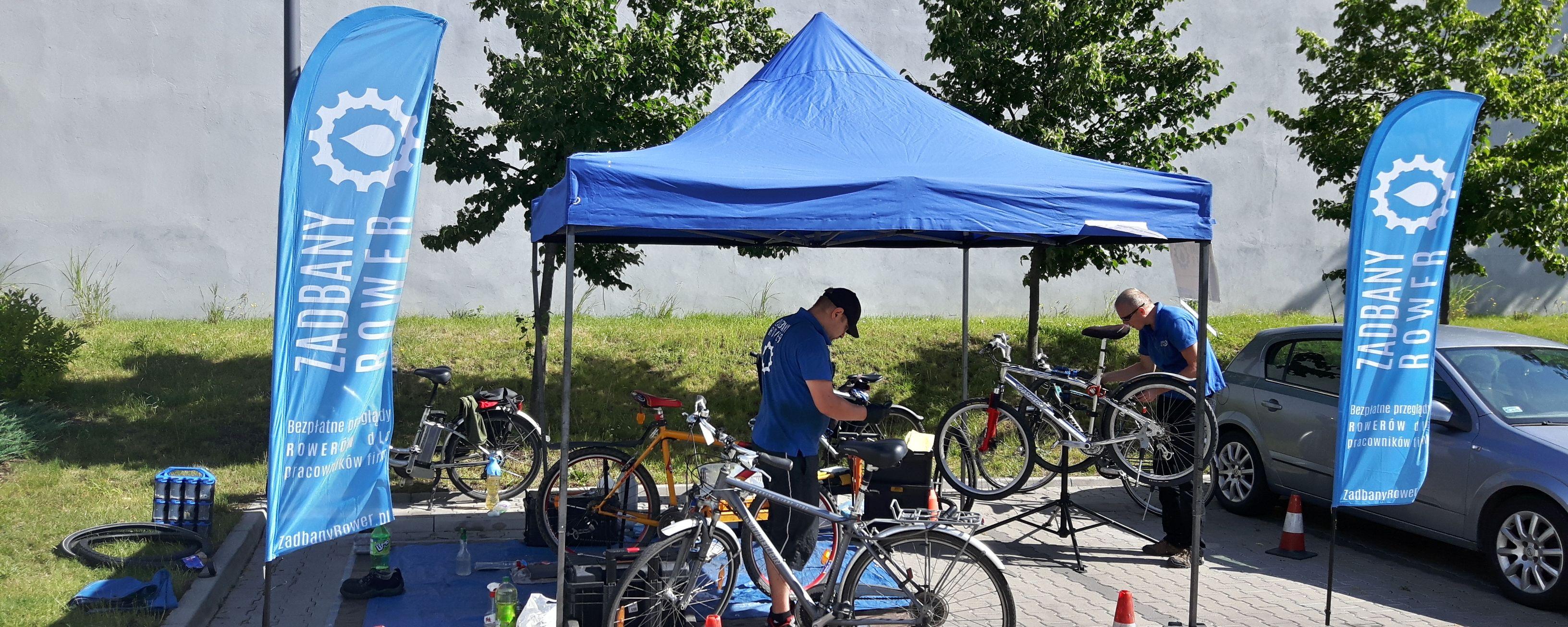 Mobilny przegląd serwisowy rowerów